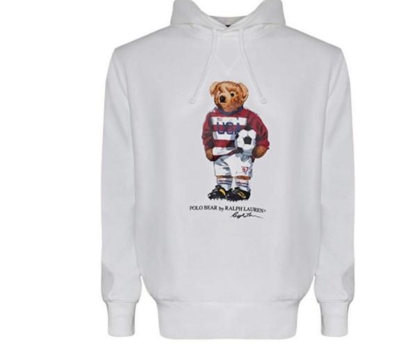HP Polo Ralph Lauren polo bear hoodie NWT